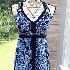Women's Criss Cross back Summer Dress